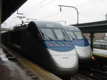 The Amtrak Acela
