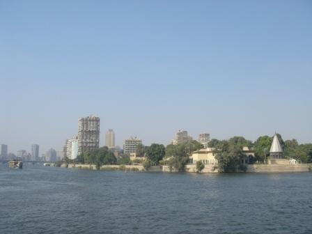 The Nile in Cairo