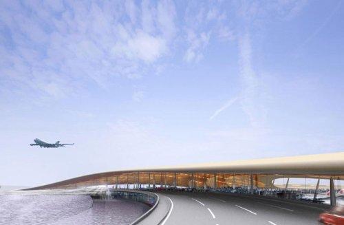 Foster\'s new Beijing Airport