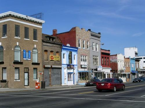 H Street, north side