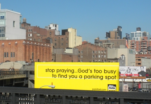 Stop praying billboard2