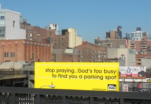 Stop praying billboard2