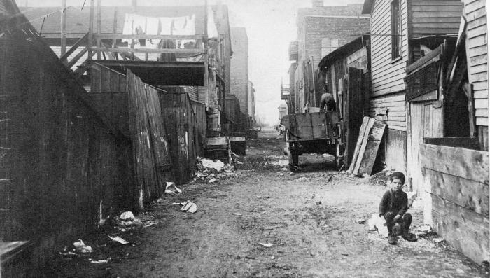 Chicago Hunter Alley 1901