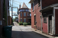 Zanesville alley