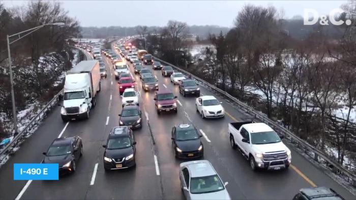 I 490 traffic